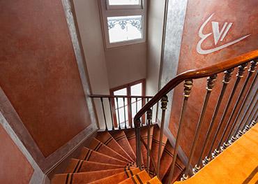 Hotel Edouard VI Escalier